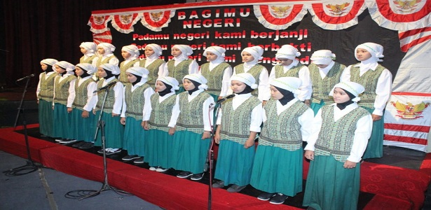 Paduan Suara - Kelompok Paduan Suara MTs. Wachid Hasyim