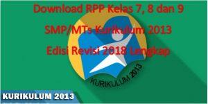 logoh RPP K13 Revisi 2018 300x150 - RPP Kelas 7 8 9 SMP/MTs Kurikulum 2013 Revisi 2018 Semester - 2 TH. 2019-2020