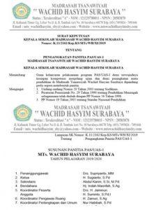 SK 221x300 - SK dan Jobdis Panitia Ujian Akhir Semester (UAS) Tahun 2019