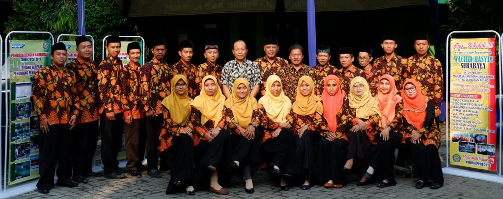 Dewan Guru MTs Wachid Hasyim Tapel 2020-2021