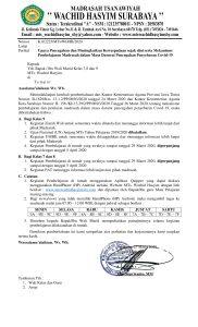 Mekanisme Pembelajaran Madrasah dalam Masa Darurat Pencegahan Penyebaran Covid 19 1 182x300 - Upaya Pencegahan dan Meningkatkan Kewaspadaan sejak dini serta Mekanisme Pembelajaran Madrasah dalam Masa Darurat Pencegahan Penyebaran Covid-19