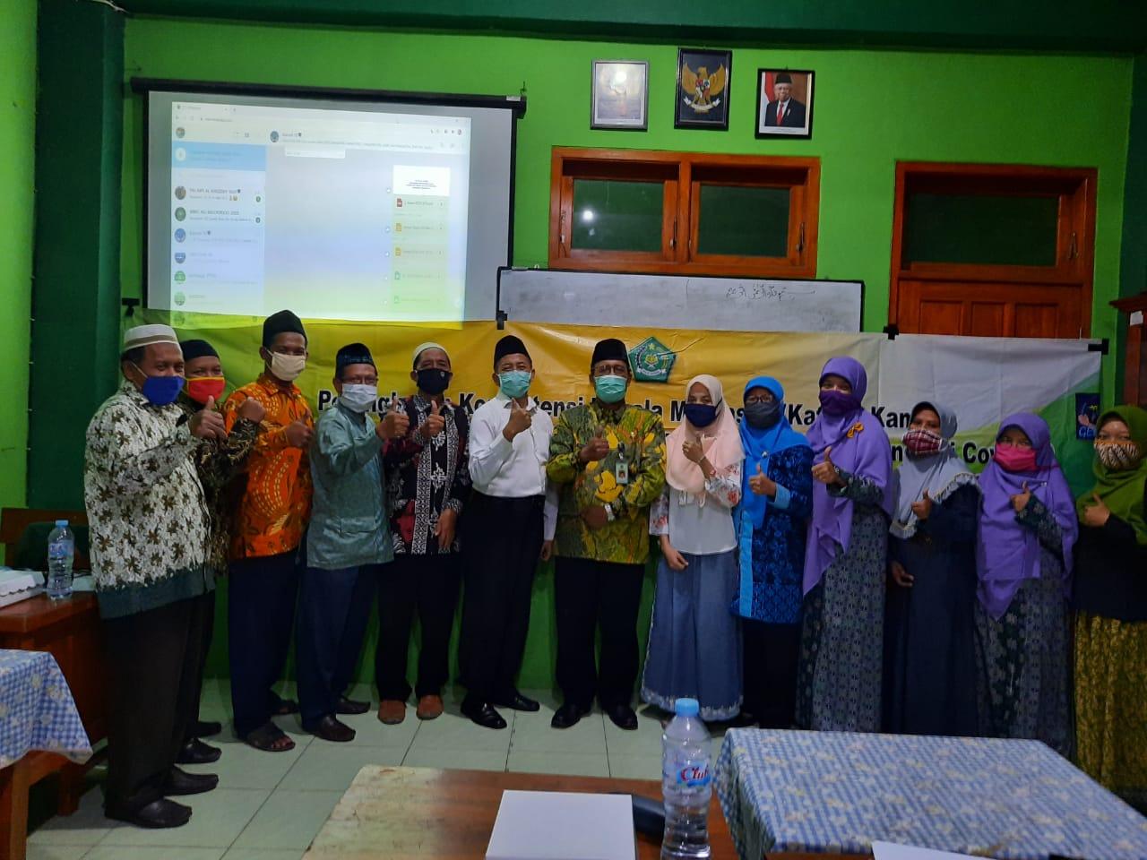 Workshop Penyusunan Dokumen I Kurikulum Darurat  Pandemi Covid 19