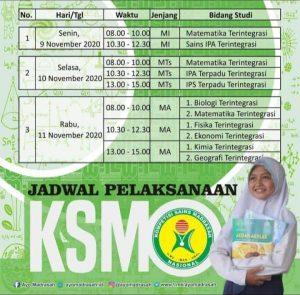 ksm pelaksanaan 300x295 - 3 Siswa MTs Wachid Hasyim Mengikuti KSM Nasional Secara Online