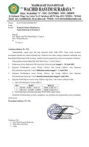 23. Pemberitahuan Kegiatan Selama Pelaksanaan Ujian Madrasah UM 1 182x300 - Kegiatan Selama Pelaksanaan Ujian Madrasah (UM) Kelas 9 MTs. Wachid Hasyim